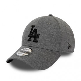 12134955_Casquette MLB Los Angeles Dodgers New Era Jersey Essential 9Forty Gris