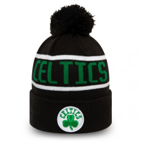 12145383_Bonnet NBA Boston Celtics New Era Bobble Noir pour enfant
