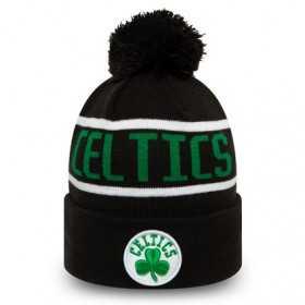 Kid's New Era Bobble Knit NBA Boston Celtics Black