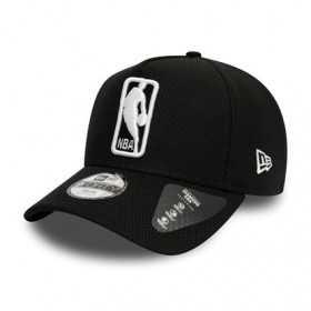 12145389_Casquette NBA Logo New Era Black Base Trucker Noir pour enfant