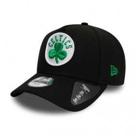 12145394_Casquette NBA Boston Celtics New Era Black Base Trucker Noir pour enfant
