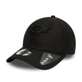 12145406_Casquette NBA Chicago Bulls New Era Mono Team Colour 9Forty Noir pour enfant