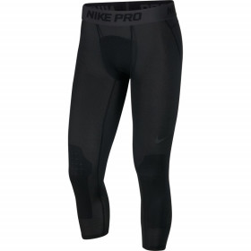Legging de compression Nike Pro 3/4 Basketball Tights Noir pour homme /// AT3383-010