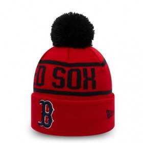 12145426_Bonnet MLB Boston Red Sox New Era Bobble Rouge pour Enfant