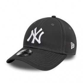12145456_Casquette MLB New York Yankees New Era League Essential 9Forty Gris pour enfant