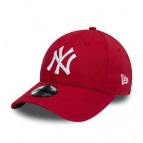 12145458_Casquette MLB New York Yankees New Era League Essential 9Forty Rouge pour enfant