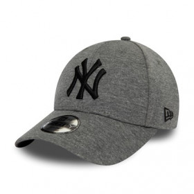 12145475_Casquette MLB New York Yankees New Era Jersey Essential 9Forty Gris pour enfant