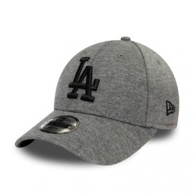 12145477_Casquette MLB Los Angeles Dodgers New Era Jersey Essential 9Forty Gris pour enfant