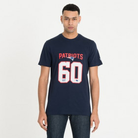 12123824_T-Shirt NFL New England Patriots New Era Supporters Bleu Pour Homme