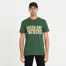 12123832_T-Shirt NFL Greenbay Packers New Era Stacked Wordmark vert Pour Homme