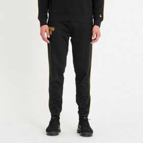Pantalone New Era Stripe Piping 2 NBA Los Angeles Lakers negro para hombre