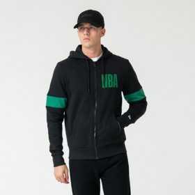 12123917_Sweat zippé à Capuche NBA Boston Celtics New Era Noir pour Homme
