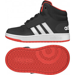 Chaussure adidas Hoops 2.0 MID Noir Pour bébé