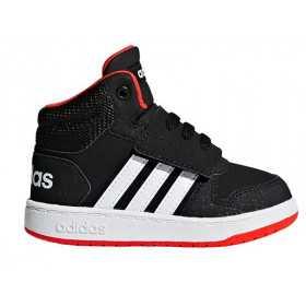 Chaussure adidas Hoops 2.0 MID Noir Pour bébé //// B75945