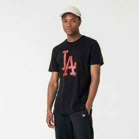 Men's T-Shirt MLB Los Angeles Dodgers New Era Seasonal Team Black RD