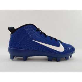 AH3376-401_Crampons de Baseball moulé Nike Alpha Force Trout 5 Mid Bleu Pour Homme