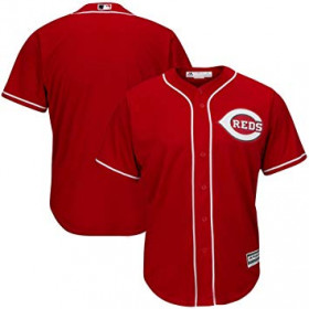 Maillot MLB Cincinnati Reds Replica Cool Base Rouge Pour Homme //// 7700-REDA-RED-RJA