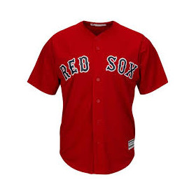 Maillot MLB Boston Red Sox Replica Cool Base Rouge Pour Homme /// 7700-RSXA-BQ-RJA