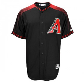 Maillot MLB Arizona Diamondbacks Replica Cool Base Noir Pour Homme /// 77S0-DKS3-DKS-RJ3