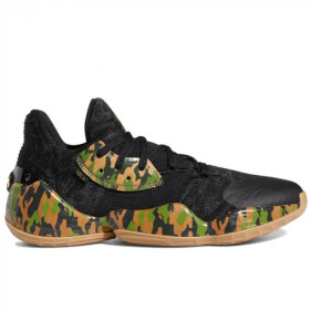 """Chaussure de Basketball adidas James Harden Vol.4 """"Black Camo"""" Noir pour homme ///EF1259"""