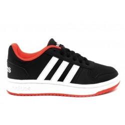 Chaussure adidas Hoops 2.0 K Noir Pour Enfant //// B76067