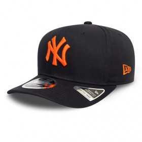 12134656_Casquette MLB New York Yankees New Era Tonal Stretch Snap 9Fifty Bleu marine