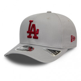12134662_Casquette MLB Los Angeles Dodgers New Era Tonal Stretch Snap 9Fifty Gris