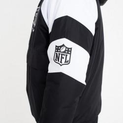 Blouson NFL New Era Oakland Raiders Noir Windbreaker Pour Homme