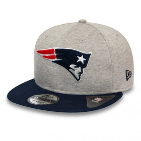 12134958_Casquette NFL New England Patriots New Era Jersey essential 9Fifty Gris