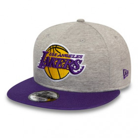 12134959_Casquette NBA Los Angeles Lakers New Era Jersey essential 9Fifty Gris
