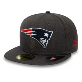 12134984_Casquette NFL New England Patriots New Era Heather essential 59Fifty Noir