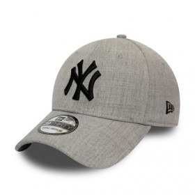 12134987_Casquette MLB New York Yankees New Era Heather Essential 39Thirty Gris