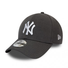 12134988_Casquette MLB New York Yankees New Era Heather Essential 39Thirty Gris anthracite