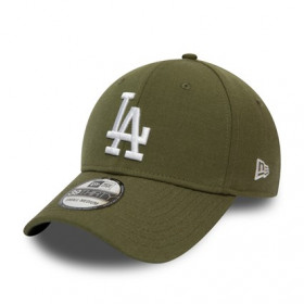 12134990_Casquette MLB Los Angeles Dodgers New Era Heather Essential 39Thirty Vert