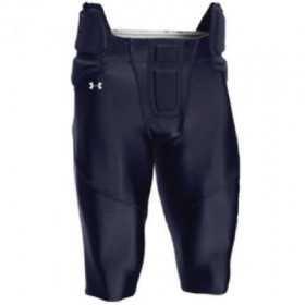 UFPP1MNVY_Pantalon de Football Américain Under armour tout intégré Bleu Marine pour homme
