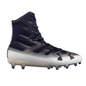 3000177-402_Crampons de Football Americain Under Armour Highlight MC Bleu marine