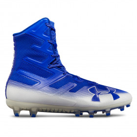 3000177-401_Crampons de Football Americain Under Armour Highlight MC Bleu