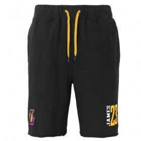 EK2M1BBSN-LAKJL_Short NBA Lebron James Los Angeles Lakers Noir pour homme
