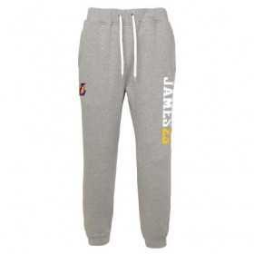 Pantalone NBA Lebron James Los Angeles Lakers Gym rat Jogger gris para hombre