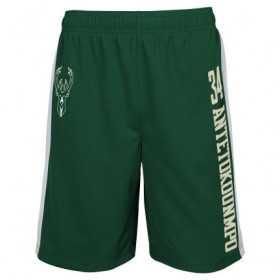 EK2M1BBSW-BCKGA_Short NBA Giannis Antetokunmpo Milwaukee Bucks Jumpshot Mesh Ball Vert pour homme