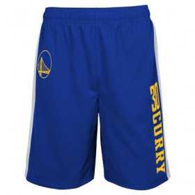 EK2M1BBSW-WARSC_Short NBA Stephen Curry Golden State Warriors Jumpshot Mesh Ball Bleu pour homme