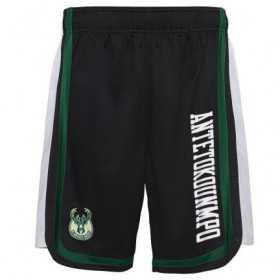 EK2M1BBSY-BCKGA_Short NBA Giannis Antetokunmpo Milwaukee Bucks Hooper Ball Noir pour homme