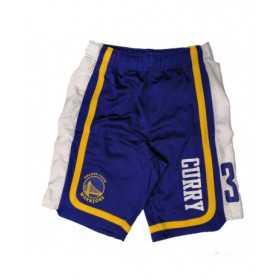 EK2M1BBSY-WARSC_Short NBA Stephen Curry Golden State Warriors Hooper Ball Bleu pour homme