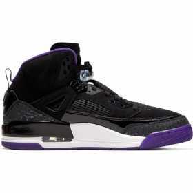 Chaussure de Basket Jordan Spizike Noir/Violet Pour homme /// 315371-051