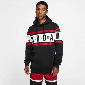 Sweat à capuche Jordan AIR Noir pour homme //// BQ5651-010