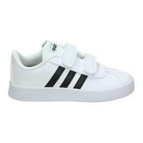 Chaussure adidas VL Court 2.0 CMF I Blanc Pour Enfant /// DB1839