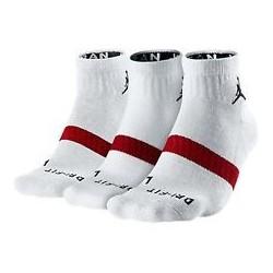 Jordan Drifit Low Quarter 3 paires Blanc
