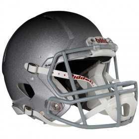 Casque de Football américain gris metalic Riddell Révo speed
