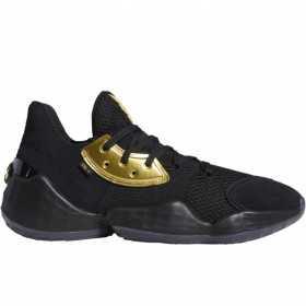 "EF8648_Chaussure de Basketball adidas James Harden Vol.4 ""Imma Be A Star"" Noir pour homme"