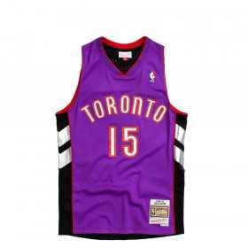 SMJYCP18192-TRADKPR99VCA_Maillot NBA swingman Vince Carter Toronto Raptors 1999-00 Hardwood Classics Mitchell & ness Violet